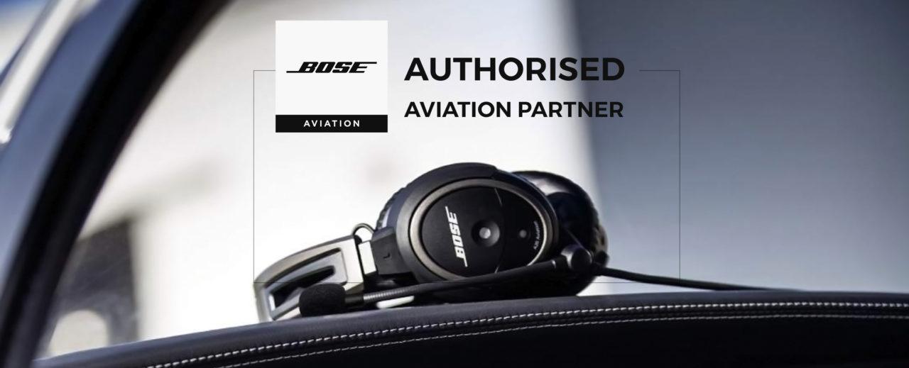 Bose authorised aviation partner
